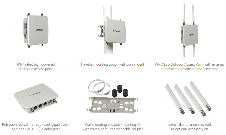 WND930 Outdoor Access Point